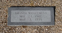 Amanda Wilhelmena Anderson