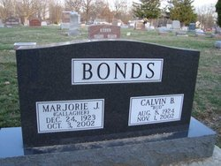 Marjorie J. <i>Gallagher</i> Bonds