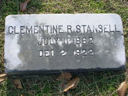 Clementine Rebekah <i>Watson</i> Stansell