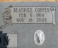 Beatrice <i>Coffey</i> Parson