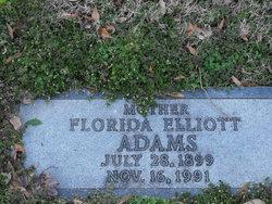 Florida <i>Elliott</i> Adams
