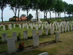 La Plus Douve Farm Military Cemetery