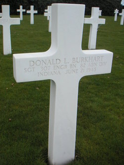 Sgt Donald L Burkhart