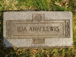 Ida Ann <i>Denfip</i> Lewis
