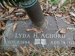 Lyda <i>Holley</i> Achord