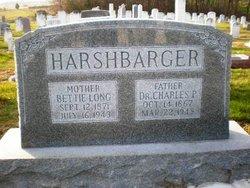 Elizabeth S Bettie <i>Long</i> Harshbarger
