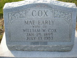 Mae <i>Early</i> Cox
