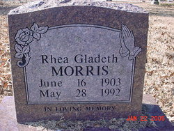 Rhea Gladeth <i>Steele</i> Morris
