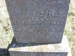 Susan A. <i>Elston</i> Decker