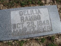 Delilia Lila <i>Houseworth</i> Rambo