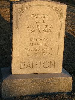Mary Louise <i>Belveal</i> Barton
