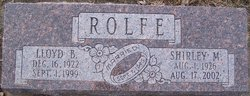 Shirley Marie <i>Price</i> Rolfe