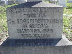 Sarah C. Sallie <i>Baxter</i> Bird