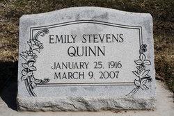 Emily <i>Stevens</i> Quinn