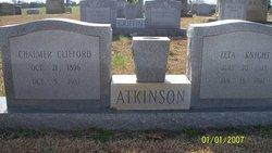 Chalmer Clifford Atkinson