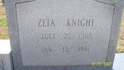 Zeta <i>Knight</i> Atkinson
