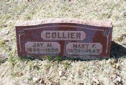 Mary Frances Mate <i>Smith</i> Collier