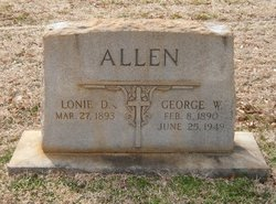 Lonie D Allen