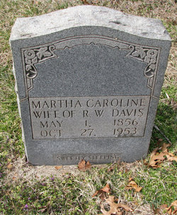 Martha Carolina <i>Dalton</i> Davis