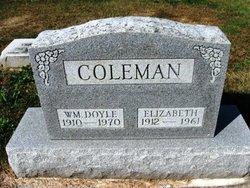 Elizabeth <i>Hornback</i> Coleman