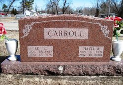 Edgar Everett Ed Carroll