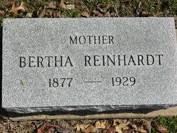Bertha <i>Weilbrenner</i> Reinhardt