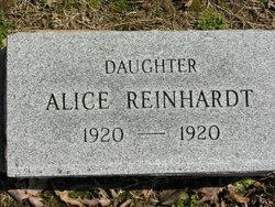 Alice Reinhardt