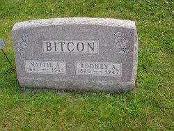 Martha Ann Mattie <i>Thompson</i> Bitcon