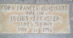 Cora Frances <i>Huneycutt</i> Cooper