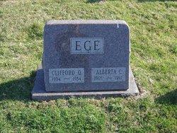 Alberta C Ege