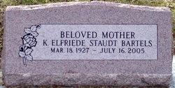 K. Elfriede <i>Staudt</i> Bartels