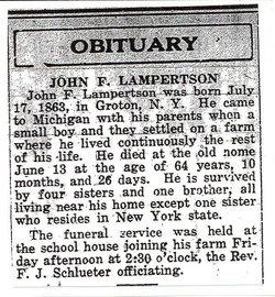 John Fremont Monte Lambertson