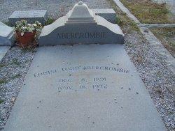 Louise <i>Todd</i> Abercrombie