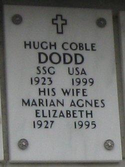 Marian Agnes Elizabeth Dodd