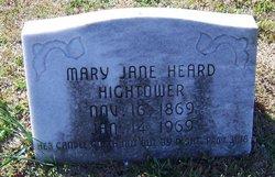 Mary Jane <i>Heard</i> Hightower