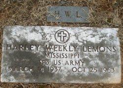 Harley Weekley Lemons, Sr
