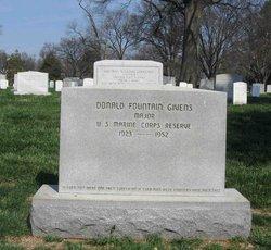 Maj Donald Fountain Givens