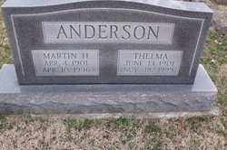 Thelma C <i>Evans</i> Anderson