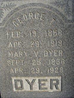Mary V <i>Holland</i> Dyer