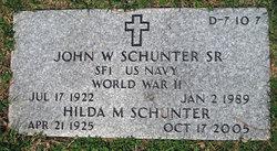 Hilda M Schunter