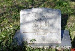 Annie Mary <i>Robertson</i> Aaron