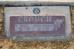 Wesley Wes Crouch