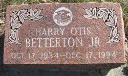 Harry Otis Betterton, Jr