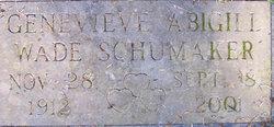Genevieve Abigail <i>Wade</i> Schumaker