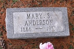 Mary Susan <i>Luttrell</i> Anderson
