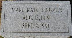 Pearl <i>Katz</i> Bergman