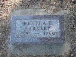 Bertha Emma Bert <i>Barkley</i> Barkley
