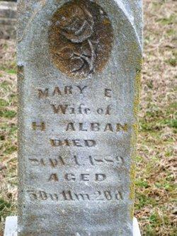 Mary Elizabeth <i>Kitchell</i> Alban