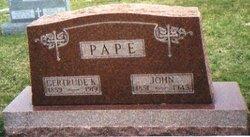 Gertrude <i>Kramer</i> Pape