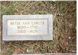 Elizabeth Betsy Ann <i>Dowdle</i> Lawler